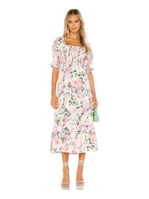 FAITHFULL THE BRAND de christin midi dress