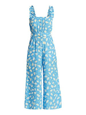 FAITHFULL THE BRAND delores floral belted jumpsuit