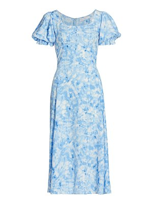 FAITHFULL THE BRAND linnie midi dress
