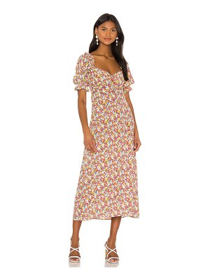 FAITHFULL THE BRAND x revolve lennox midi dress