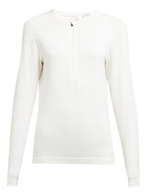 FALKE long sleeved ribbed jersey performance top