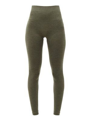 FALKE thermal wool blend leggings