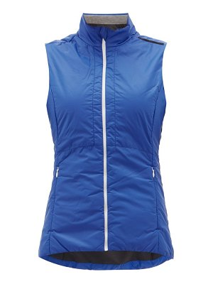 FALKE zip-up technical shell gilet