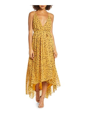 Fame and Partners leopard print wrap dress