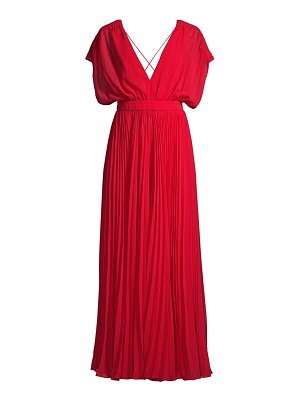 Fame and Partners the adina draped pleated jumpsuit