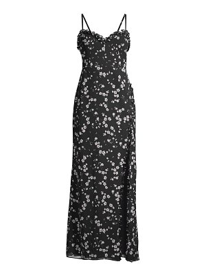 Fame and Partners the coronado floral high-slit dress