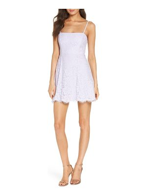 Fame and Partners the fiona lace minidress