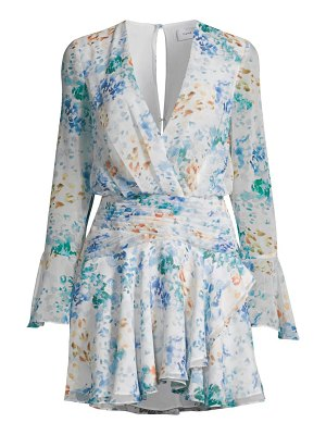 Fame and Partners the indre floral mini dress
