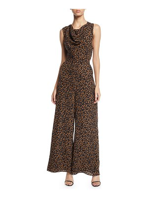 Fame and Partners The Melanie Crisscross-Back Jumpsuit