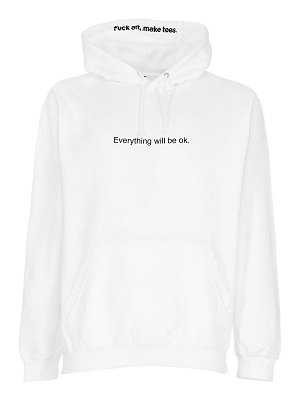 FAMT - FUCK ART MAKE TEES Everything will be ok cotton sweatshirt