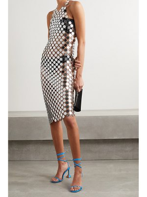 FANNIE SCHIAVONI cara chainmail midi dress