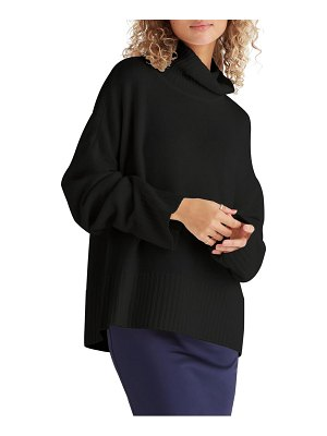 FAVORITE DAUGHTER cowl neck wool & cashmere sweater