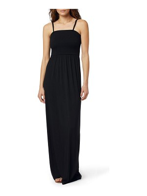 FAVORITE DAUGHTER the apartment smocked bodice knit maxi dress