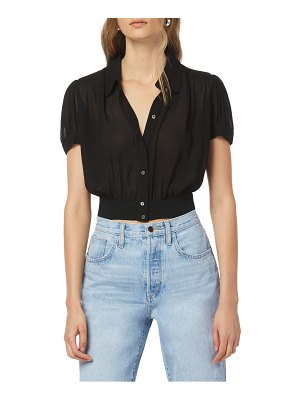 FAVORITE DAUGHTER the garden party crop blouse