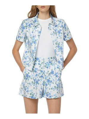 FAVORITE DAUGHTER the lemon tree button front top