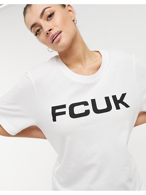 FCUK t-shirt in white