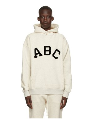 Fear of God off-white 'abc' hoodie