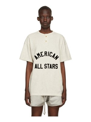 Fear of God off-white 'all star' henley