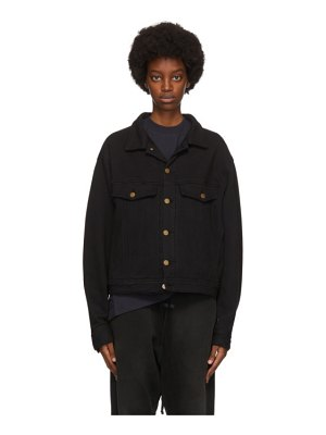 Fear of God terry relaxed trucker jacket
