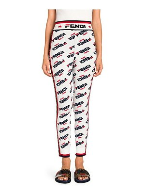 Fendi allover mania logo pants