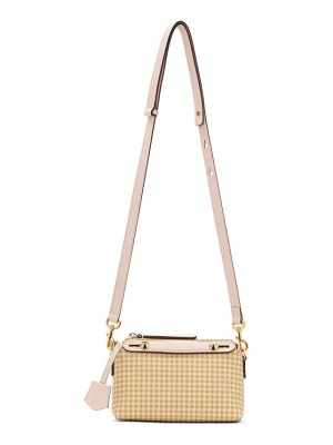 Fendi beige and pink small by the way bag