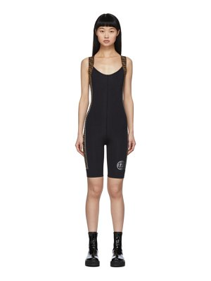 Fendi black forever  jumpsuit