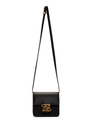 Fendi black small karligraphy bag