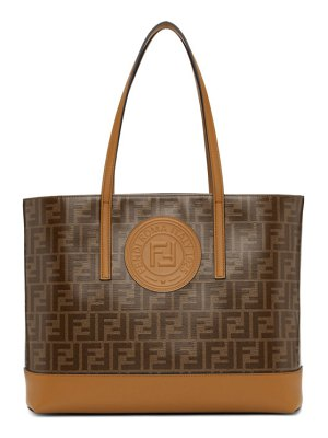 Fendi brown forever  tote