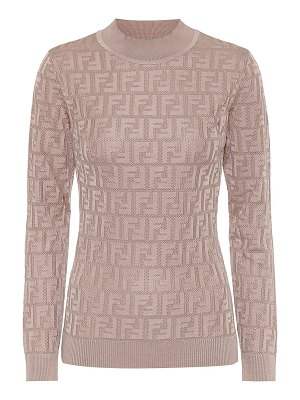 Fendi cotton-blend sweater