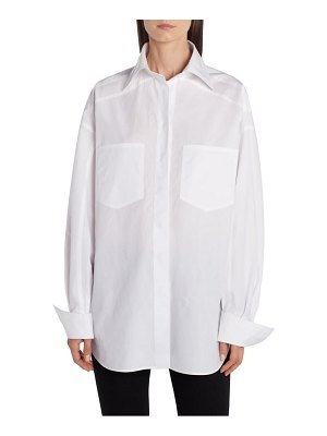 Fendi cotton poplin shirt