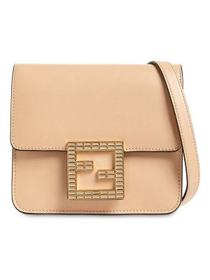 Fendi Fab leather shoulder bag