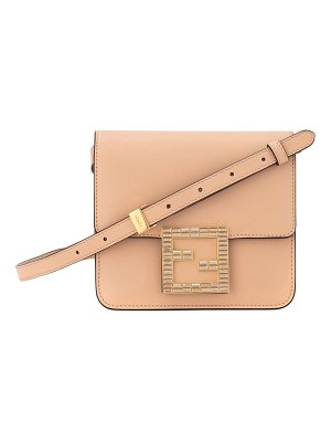 Fendi Fendi Fab Leather Crossbody Bag