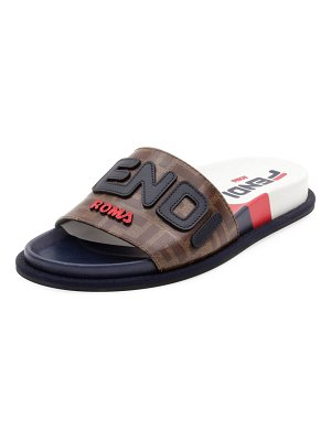 Fendi Fendi FF Slide Sandals