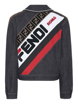 Fendi fendi mania denim jacket