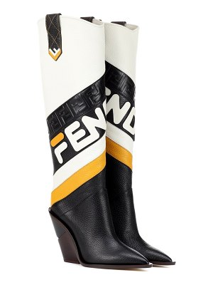Fendi FENDI MANIA leather boots