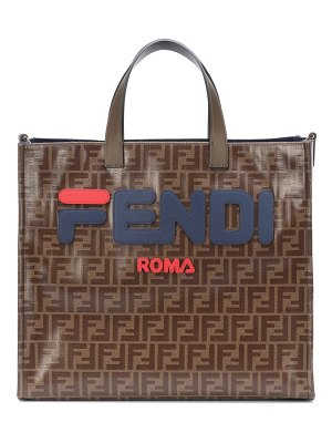 Fendi fendi mania logo shopper