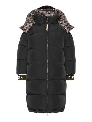 Fendi FENDI MANIA reversible down coat