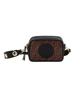 Fendi FendiCam FF Canvas Crossbody Camera Bag