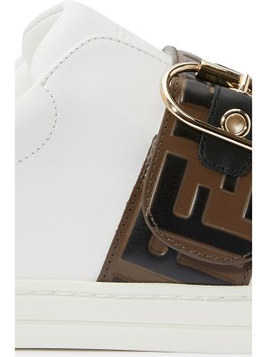 Fendi FF fur sneakers