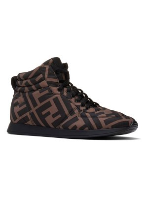 Fendi ff high top sneaker