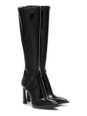 Fendi fframe knee-high neoprene boots
