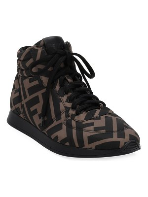 Fendi FFreedom High-Top Sneakers