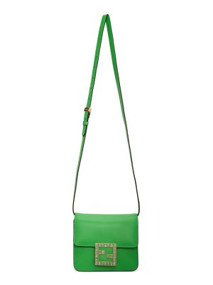 Fendi green small fabe bag