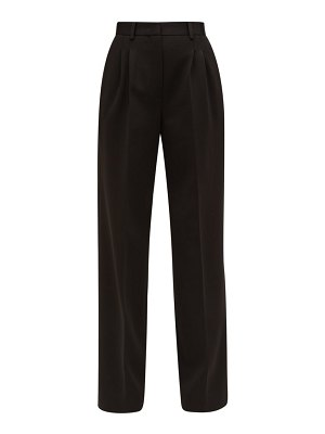Fendi high rise ponte wide leg trousers