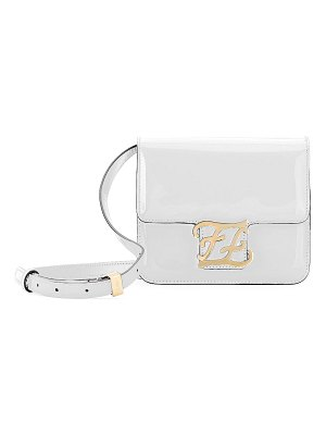 Fendi Karligraphy Shiny Shoulder Bag