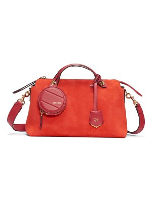 Fendi medium by the way suede shoulder bag