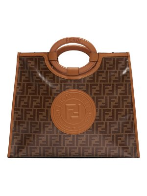 Fendi medium runaway logo shopper