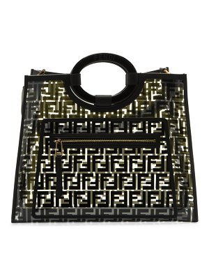 Fendi medium runaway pvc shopper