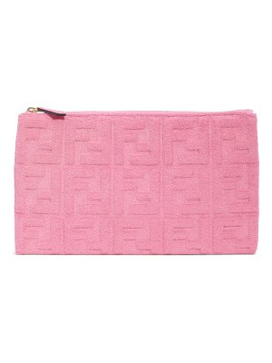 Fendi medium tess clutch