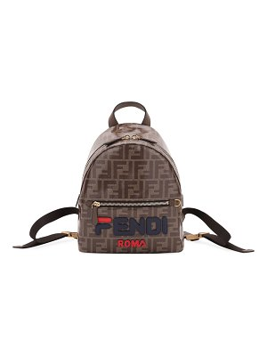 Fendi Mini FF Fendi Mania Fabric Backpack